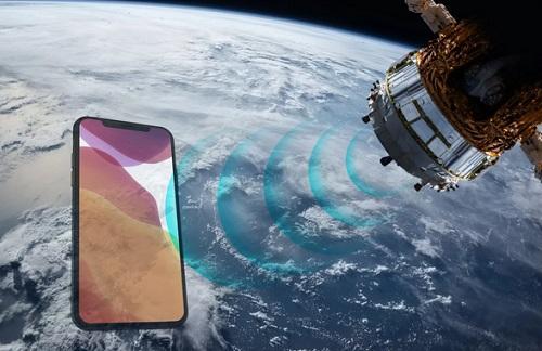 ارتباطات ماهواره ای برای آیفون ها