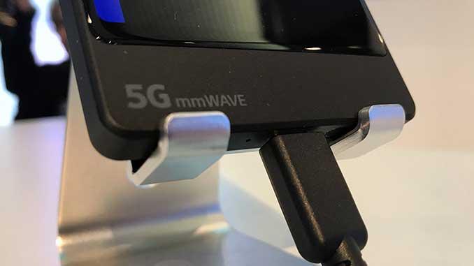 نمونه اولیه گوشی 5G سونی