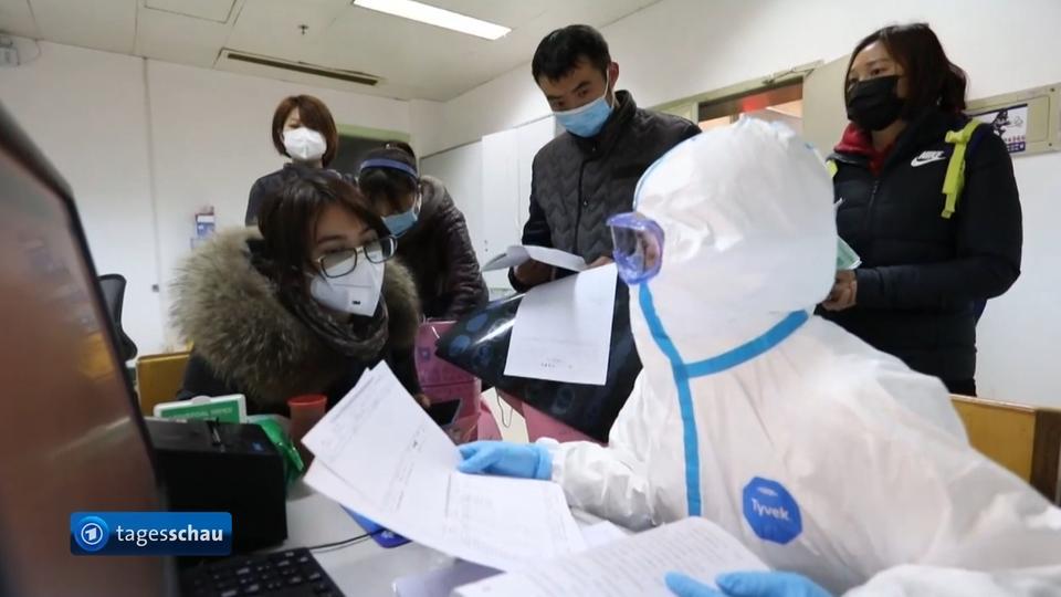 درمان نخستین بیمار ویروس کرونا چینی