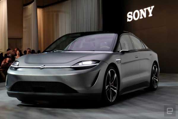 خودرو برقی سونی Vision-S
