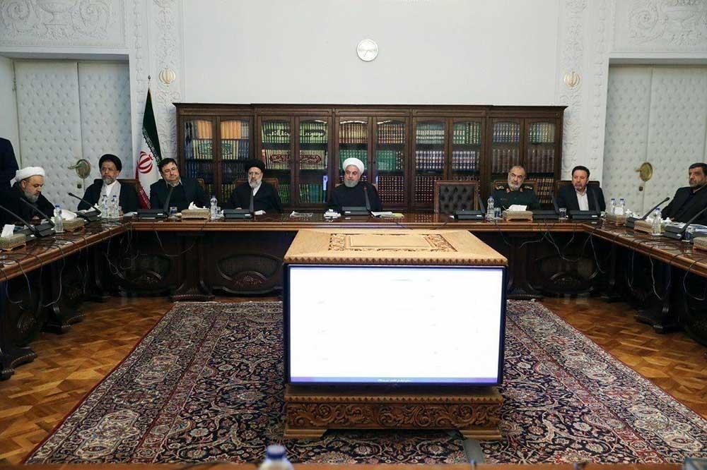جلسه شورای عالی فضای مجازی شنبه ۲۱ دی ۹۸ با حضور رئیس جمهور برگزار شد