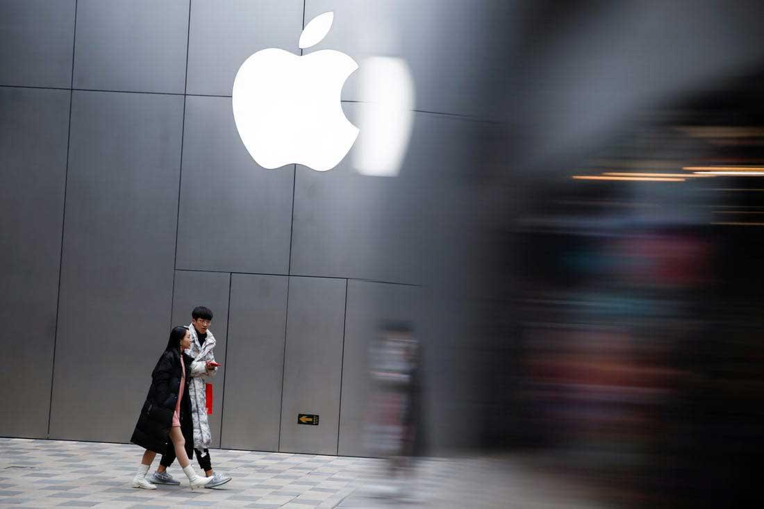 افزایش میزان فروش آیفون در بازار چین