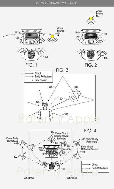 حق اختراع اپل برای ضبط صدای ۳ بعدی