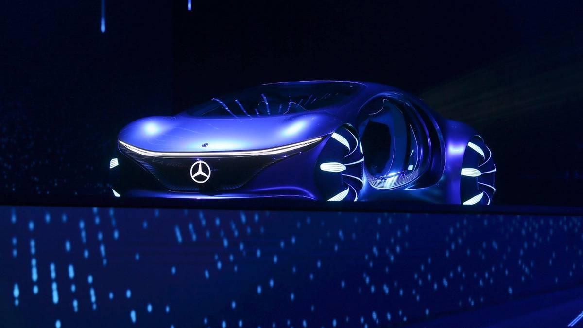 مرسدس بنز Vision AVTR رسما معرفی شد: خودرو الکتریکی با طرحی الهام گرفته از آواتار