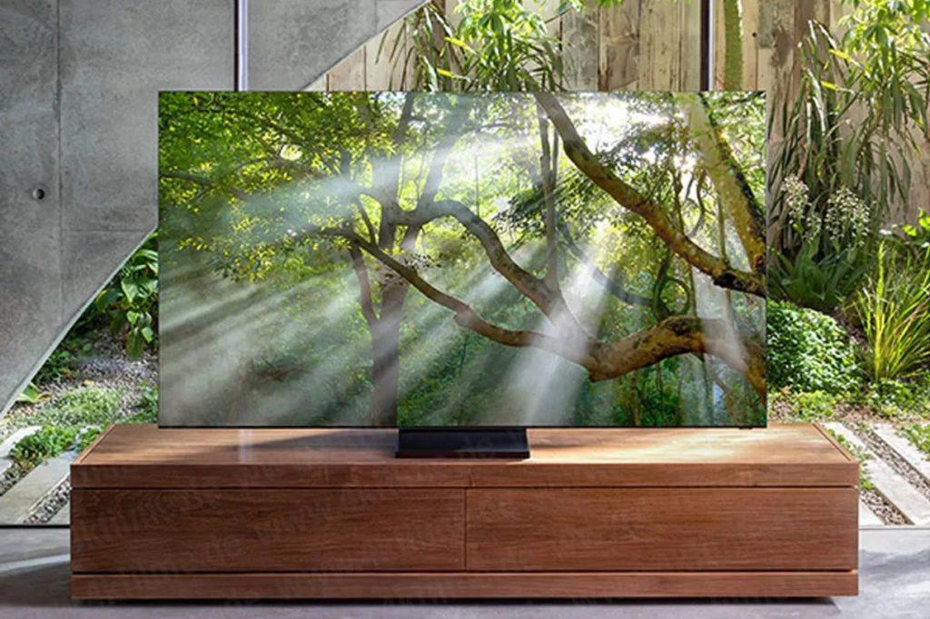 تلویزیون بدون قاب سامسونگ