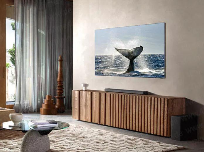 تلویزیون بدون قاب سامسونگ را پیش از معرفی رسمی ببینید