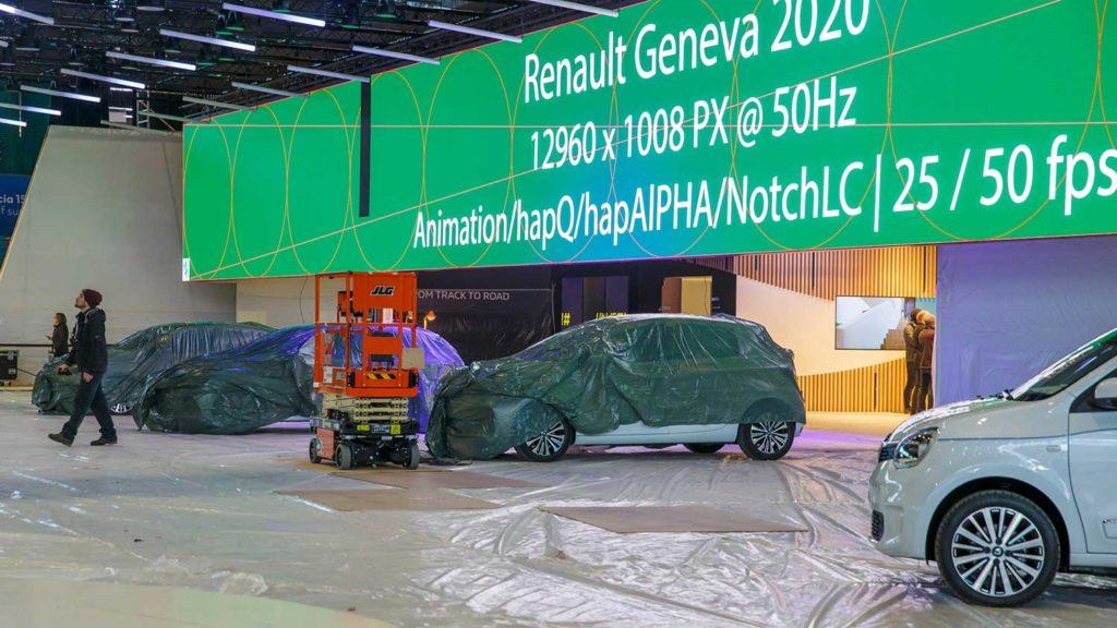 نمایشگاه خودرو ژنو ۲۰۲۰