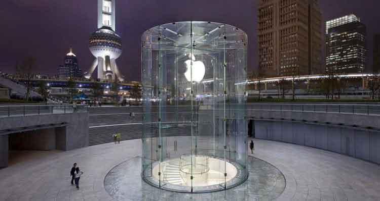 ویروس کرونا فروشگاه های اپل در چین را تعطیل کرد