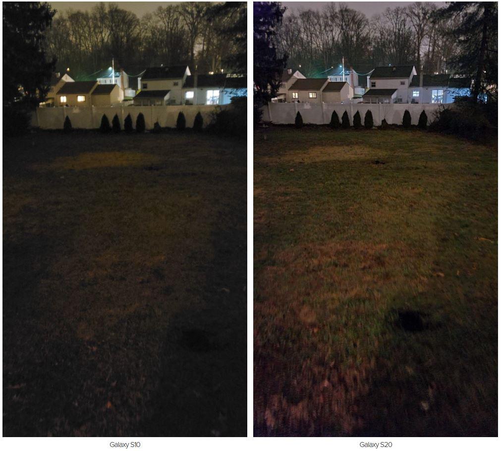 مقایسه دوربین گلکسی اس ۲۰ با گلکسی اس ۱۰