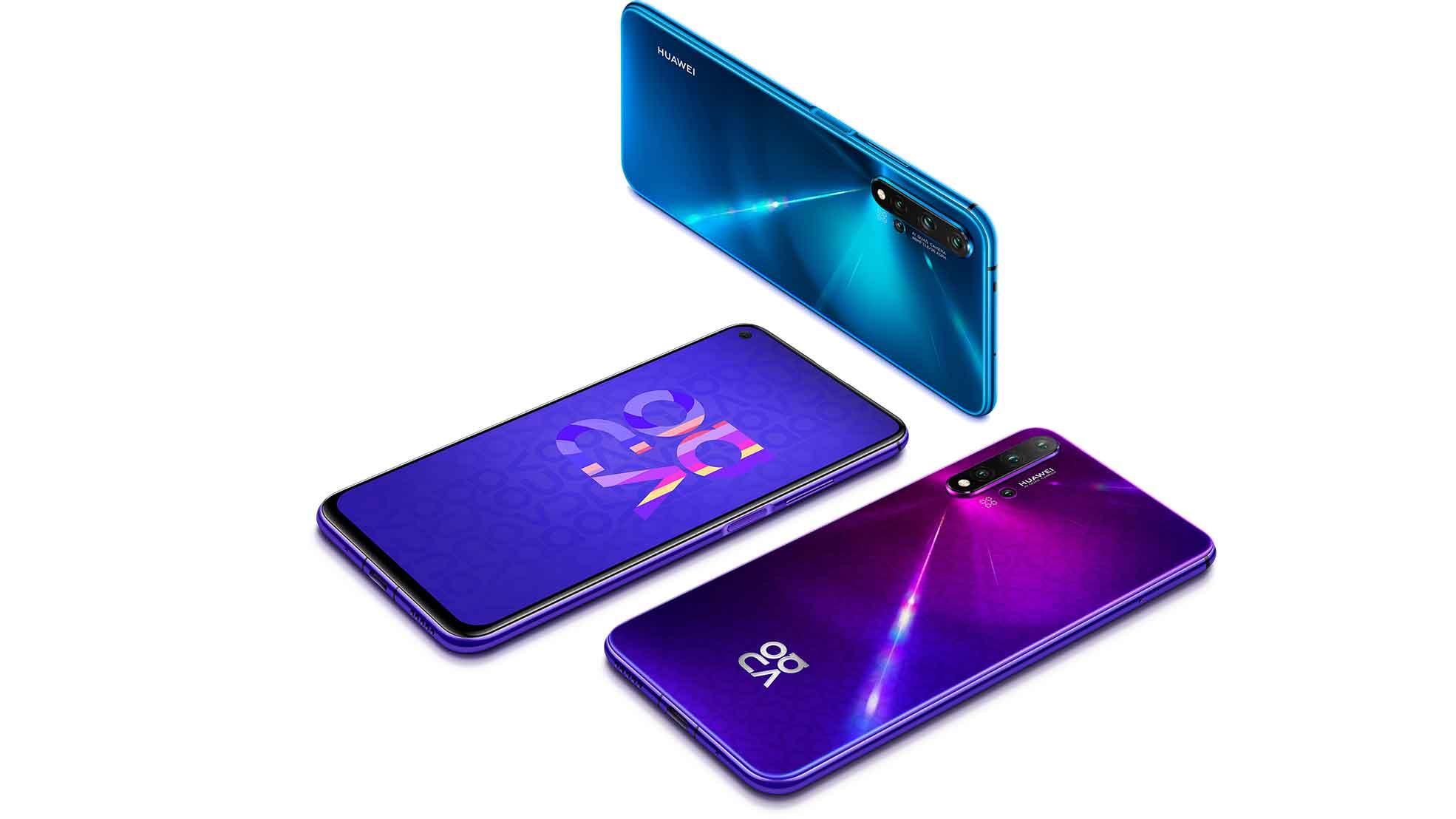 ویژگی های خاص Huawei nova 5T