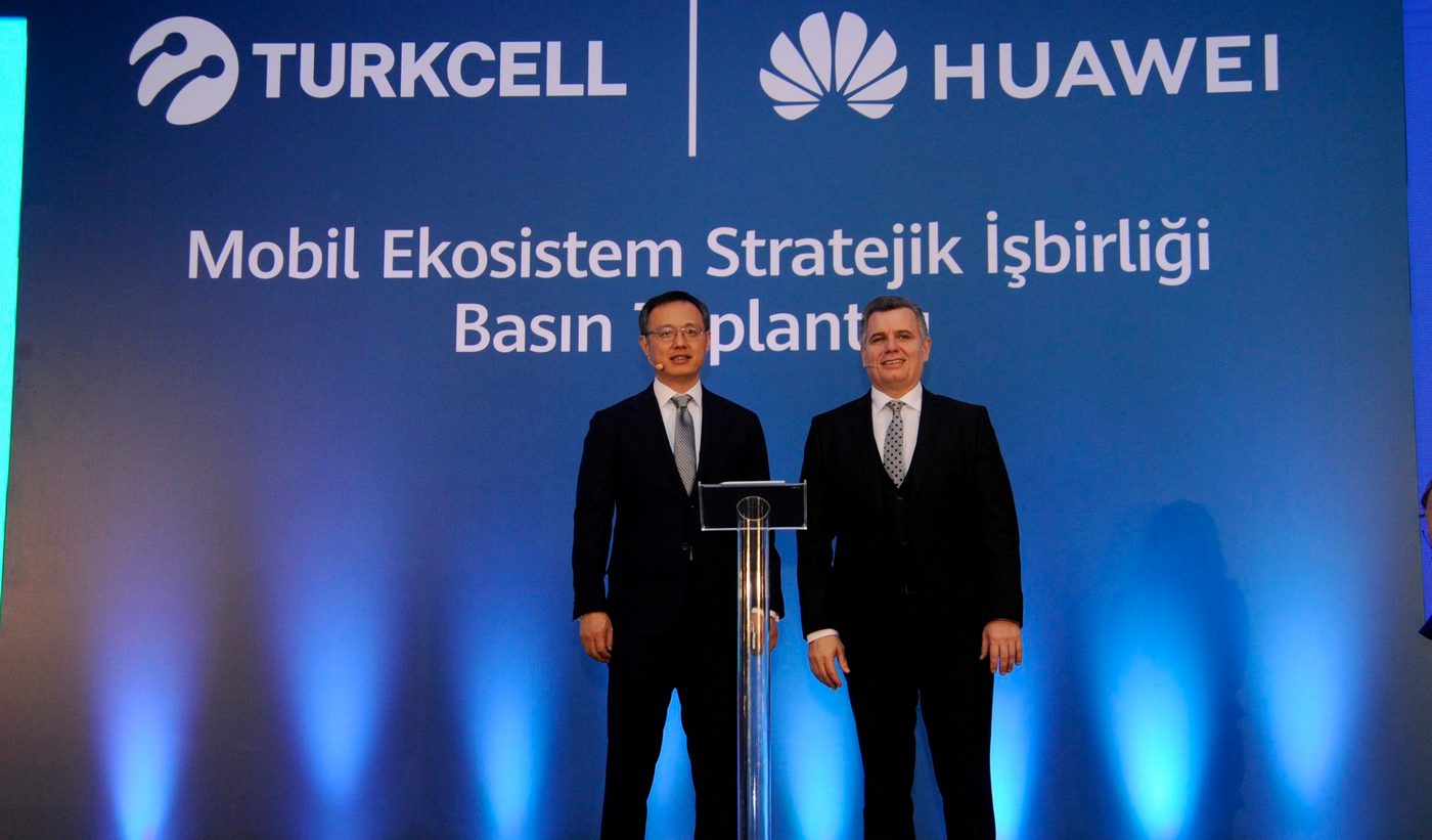 همکاری Turkcell و هوآوی