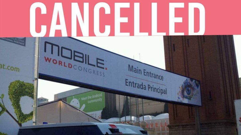لغو کنگره جهانی موبایل