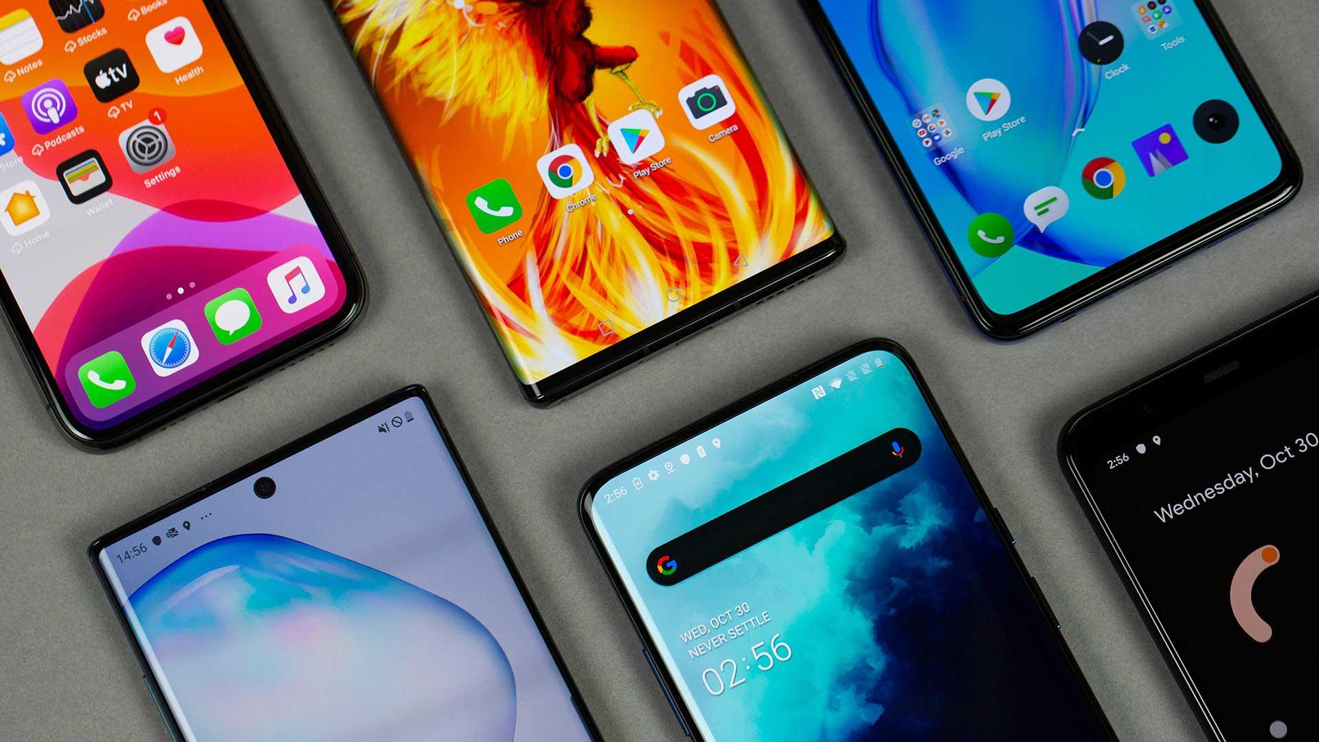 پرفروشترین موبایل های ۲۰۱۹