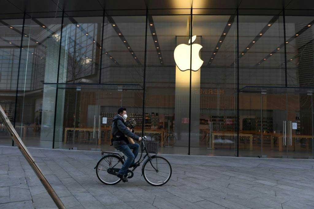 تعطیل شدنتمام فروشگاه های اپل