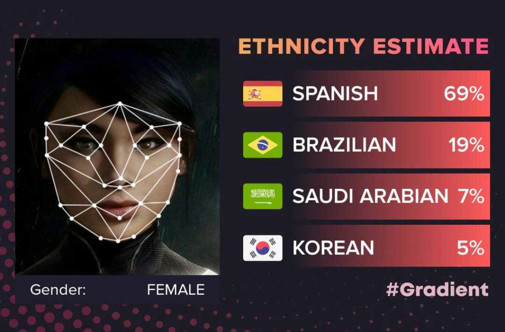 نسخه جدید گرادیانت با ویژگی Ethnicity Estimate