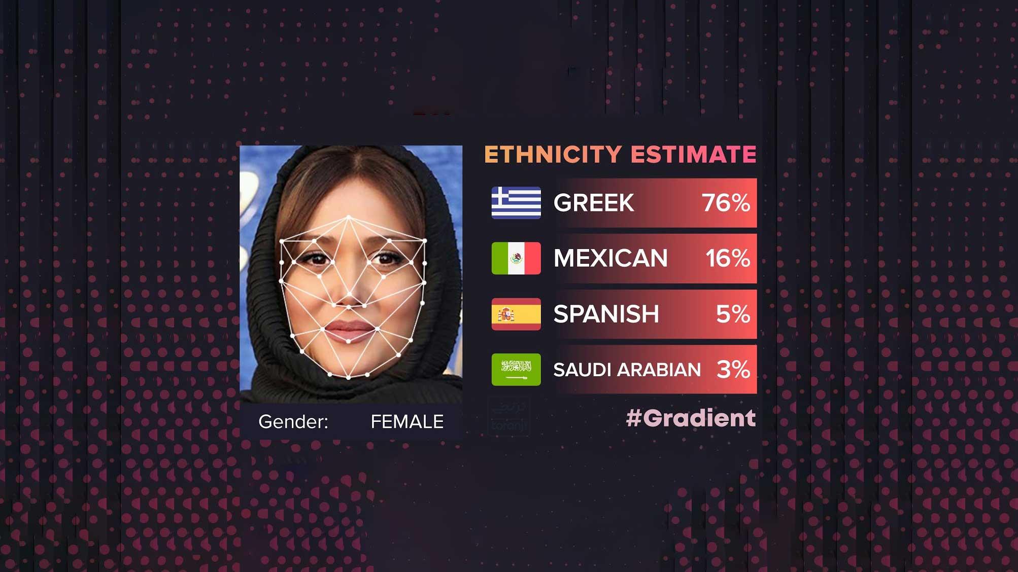 شبیه کدام کشور هستم نرم افزار Gradient