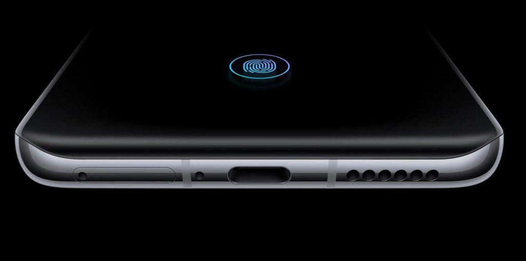حسگر اثرانگشت یکپارچه با نمایشگر Huawei P40 Pro