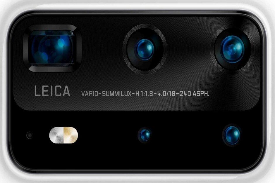 مشخصات دوربین پنج گانه هواوی پی ۴۰ پرو