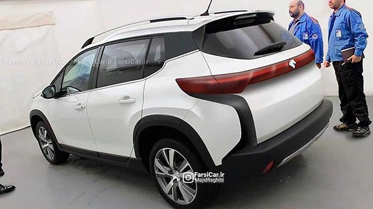 تصویر جدید شاسی بلند ایران خودرو K125 منتشر شد