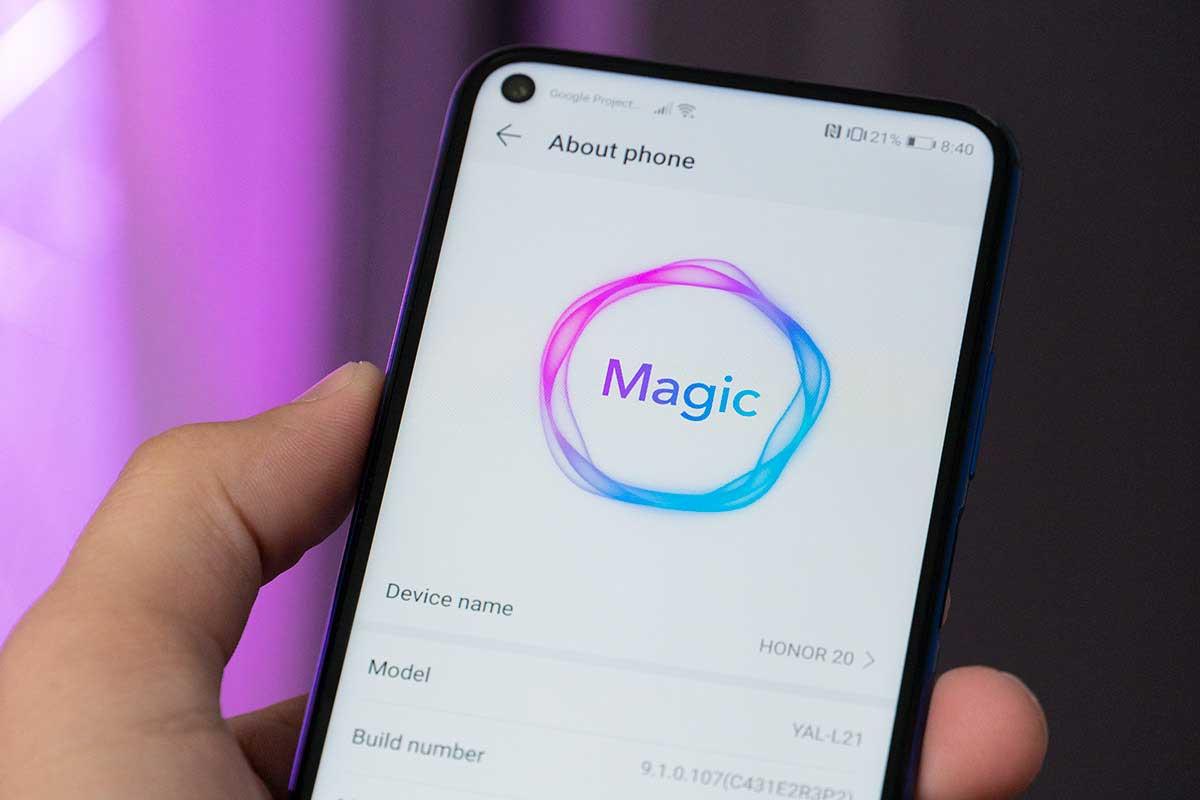 آپدیت اندروید ۱۰ آنر با رابط کاربری Magic UI 3.0