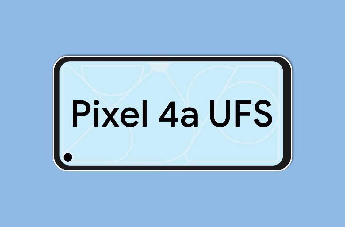 حافظه داخلی پیکسل 4a