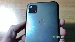 گوگل پیکسل 4a با دوربین تکی دایره ای را ببینید