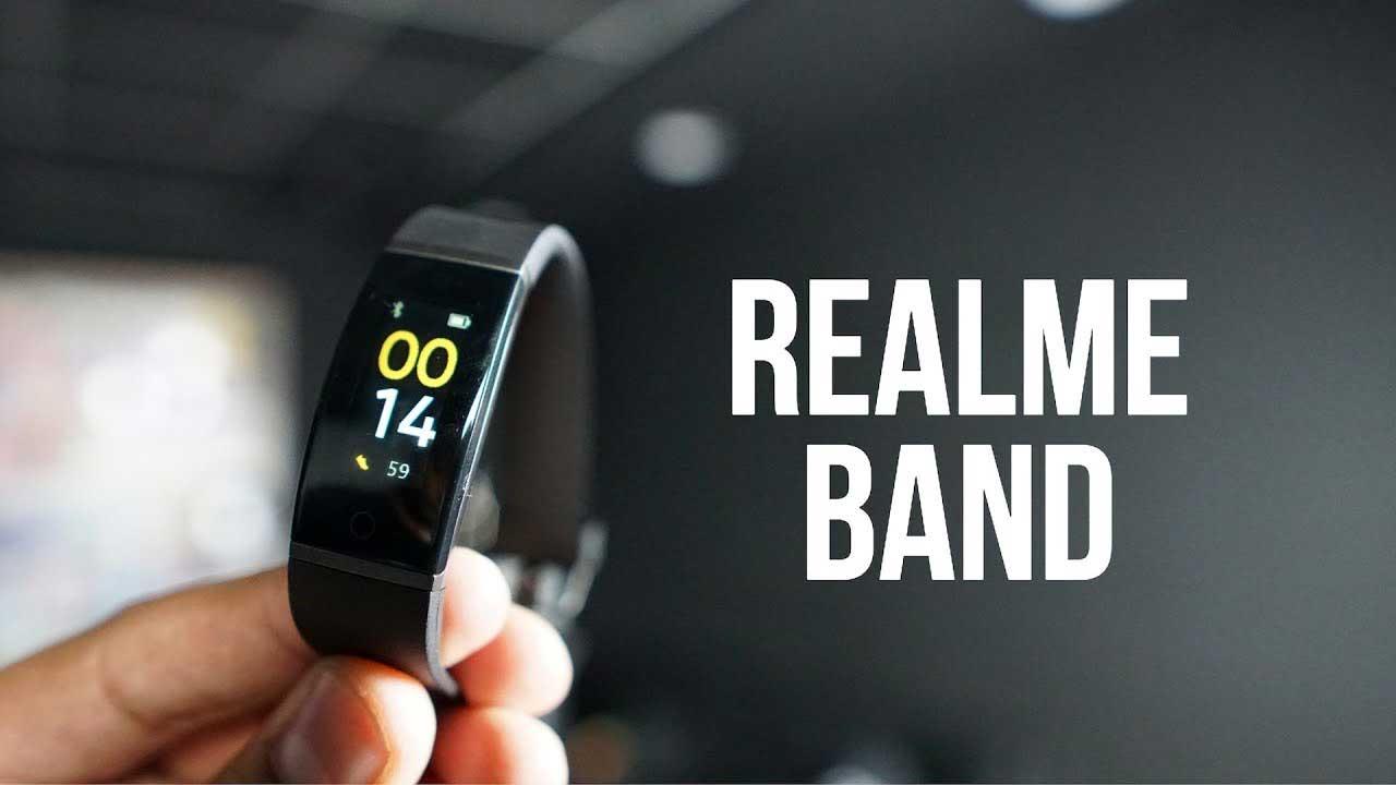 دستبند ریلمی با نام Realme Band رسما معرفی شد