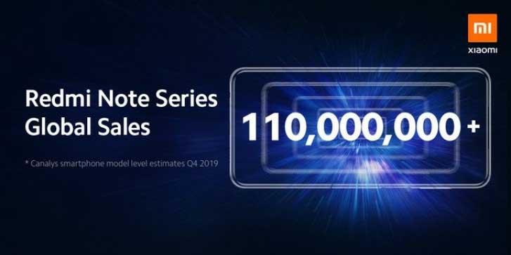 فروش خانواده ردمی نوت شیائومی از ۱۱۰ میلیون دستگاه عبور کرد