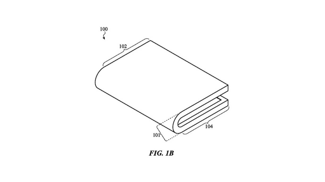 حق اختراع اپل برای گوشی تاشو