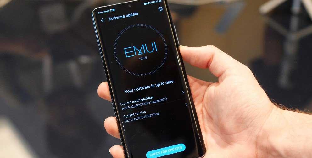 آپدیت EMUI 10 هوآوی