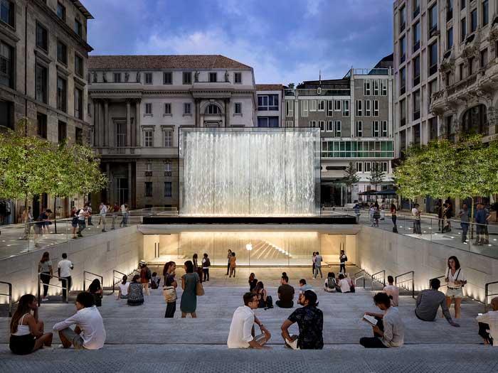 بسته شدن اپل استور ایتالیا