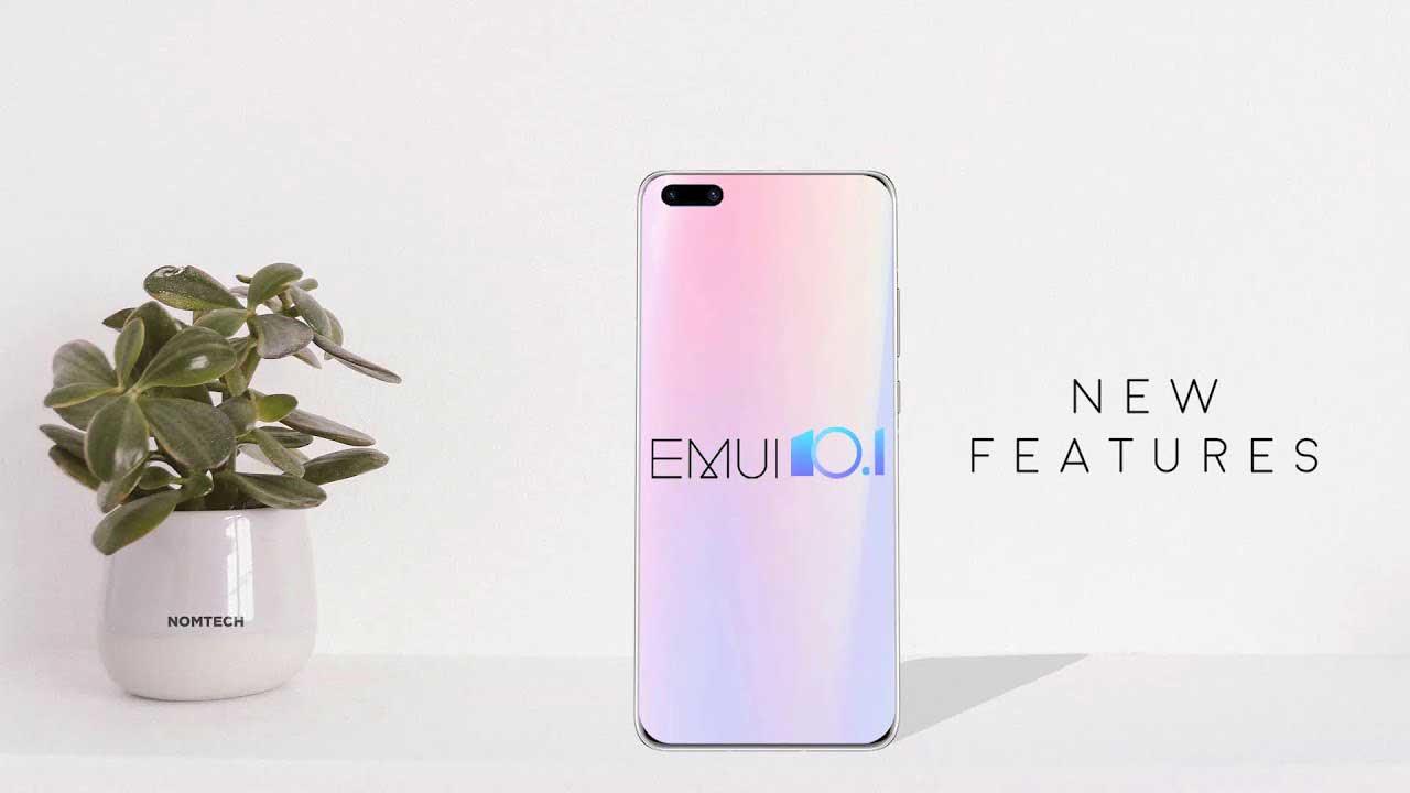 آپدیت رابط کاربری EMUI 10.1 هواوی و آنر