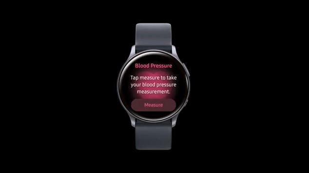 اندازه گیری فشار خون با گلکسی واچ اکتیو ۲ به زودی