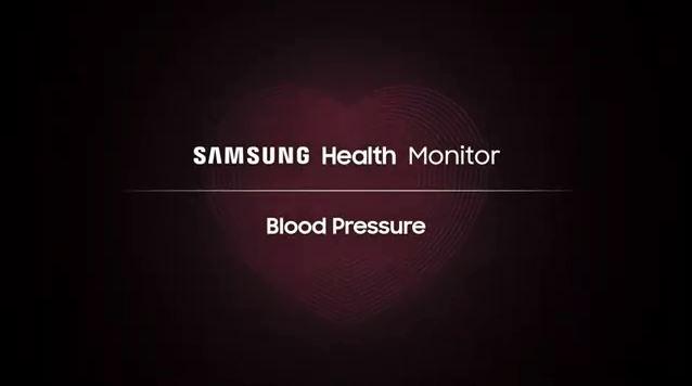 اندازه گیری فشار خون با گلکسی واچ اکتیو ۲