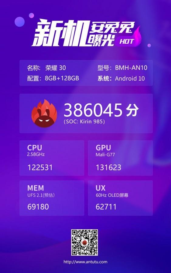 بنچمارک کایرین ۹۸۵ 5G