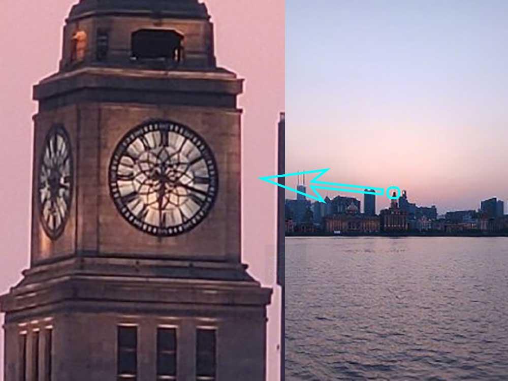 قدرت زوم ۵۰ برابر دوربین پریسکوپی شیائومی Mi 10 Youth Edition