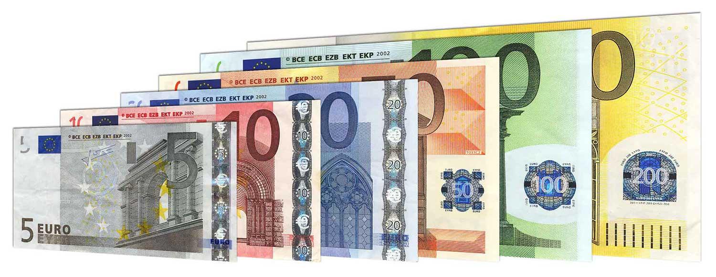 احتمال انتقال کرونا از طریق اسکناس یورو بسیار پایین است