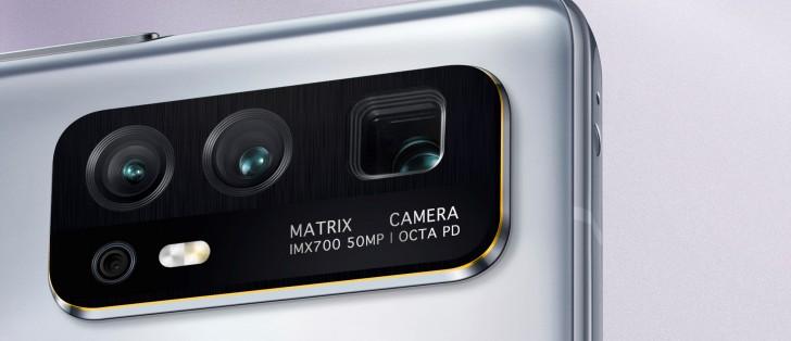 رزلوشن ۵۰ مگاپیکسلی آنر ۳۰ و حسگر تصویر سونی IMX700 روی بدنه دستگاه هک می شود