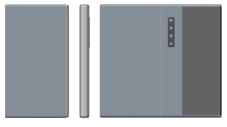 حق اختراع گوشی تاشو هواوی مشابه با گلکسی فولد اما بهبودیافتهتر منتشر شد