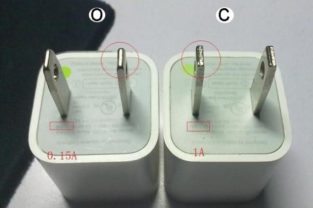 تشخیص شارژر اصلی آیفون از تقلبی