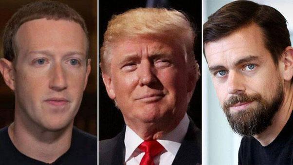 نظر فیس بوک درباره اظهارات ترامپ