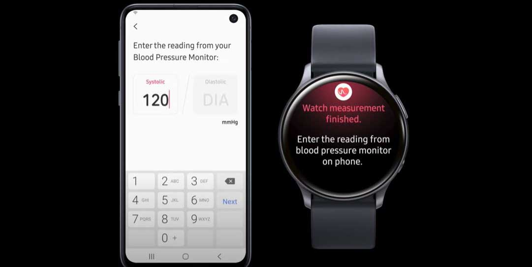 اضافه شدن قابلیت سنجش فشار خون به ساعتهای هوشمند گلکسی واچ سامسونگ