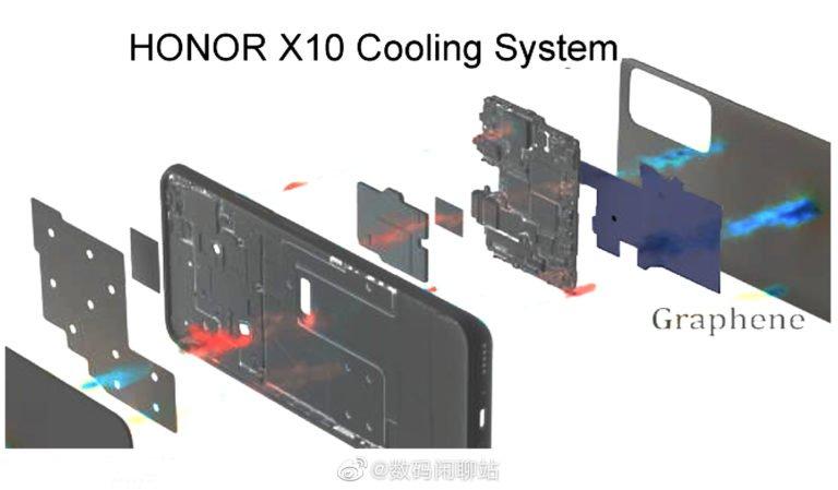 آنر X10 یک خنک کننده گرافینی خواهد داشت