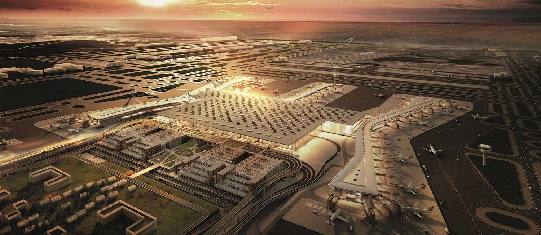 معرفی کامل فرودگاه جدید استانبول + نقشه و اطلاعات کامل