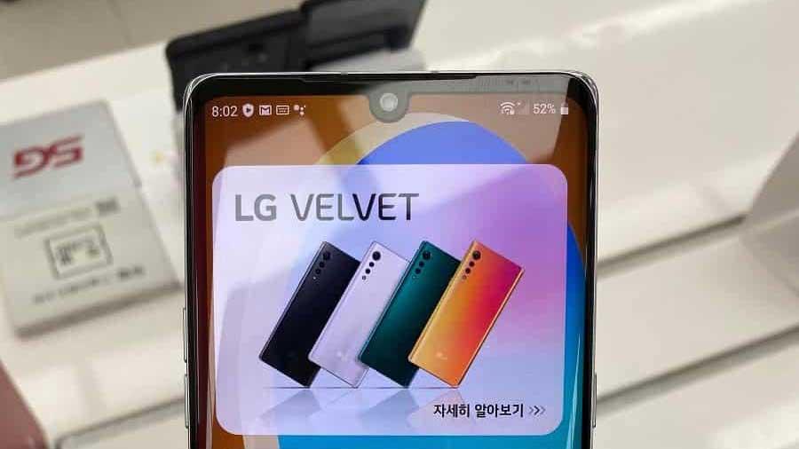 ال جی ولوت (LG Velvet) را ببینید