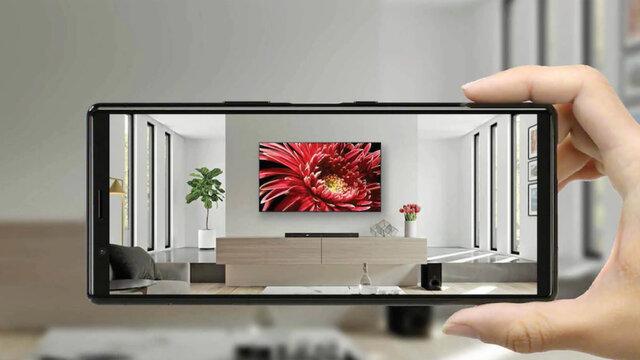 نرم افزار واقعیت افزوده سونی برای نمایش تلویزیون های این شرکت در خانه شما