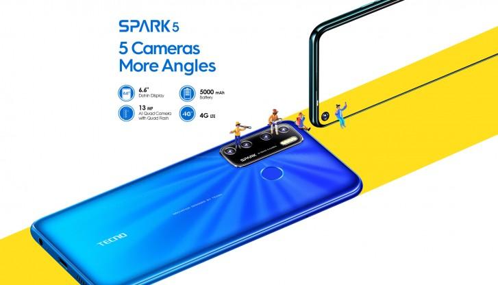 تکنو Spark 5