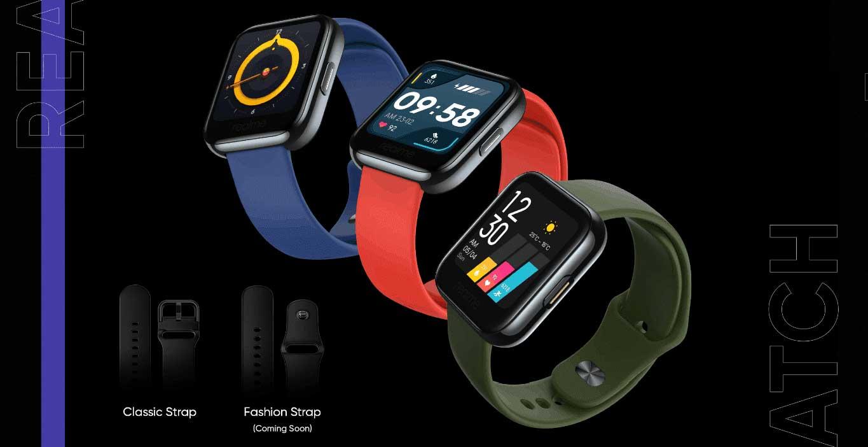رندرهای ساعت هوشمند Realme Watch را ببینید