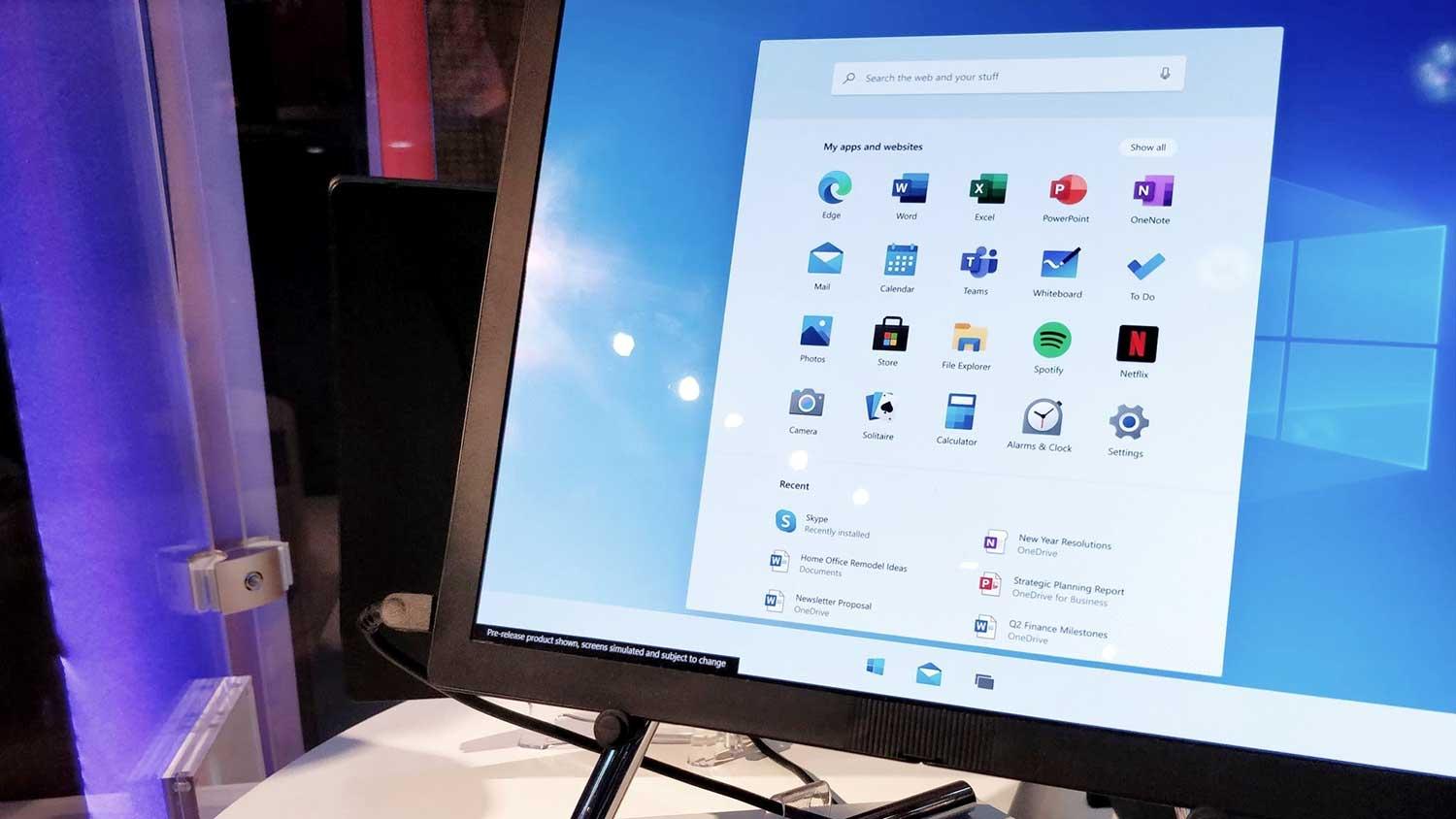 مایکروسافت ویندوز ۱۰ ایکس برای دستگاه های با یک نمایشگر متمرکزتر می شود