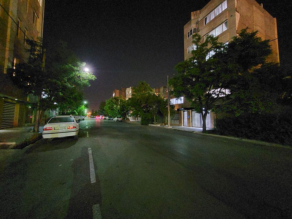 حالت شب روشن